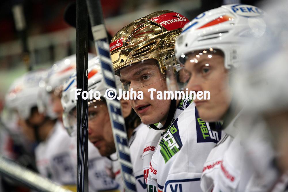 20.10.2012, HK-Areena (Turku Halli), Turku..J??kiekon SM-liiga 2012-13. TPS - Tappara..Aleksander Barkov - Tappara
