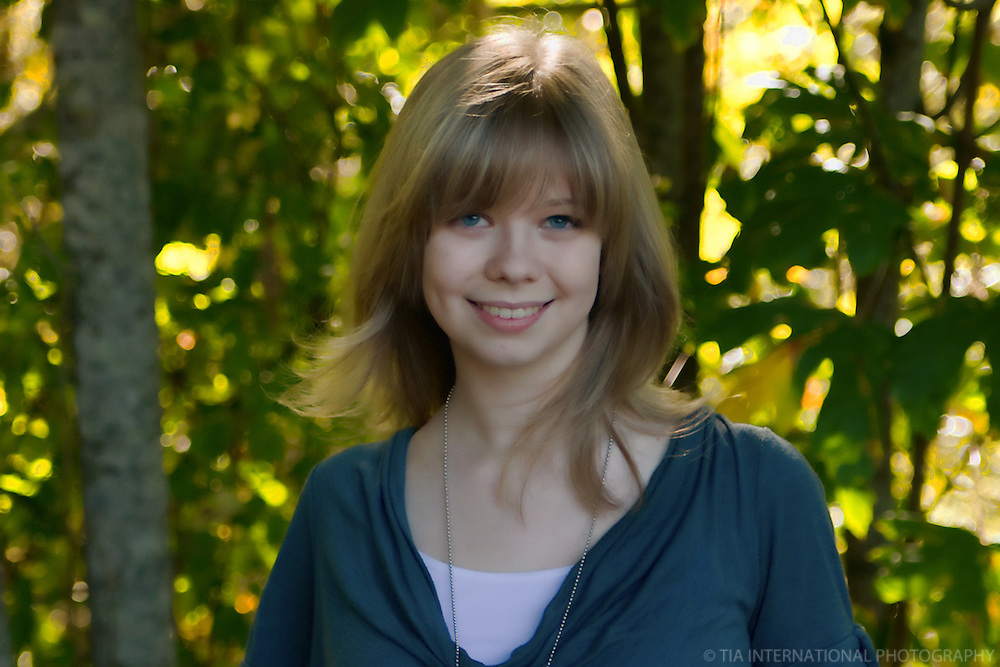 High School Senior Year Portrait, Carkeek Park, Seattle
