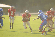 Lafayette High vs. Grenada High in 9th grade football action in Oxford, Miss. on Tuesday, September 4, 2012.