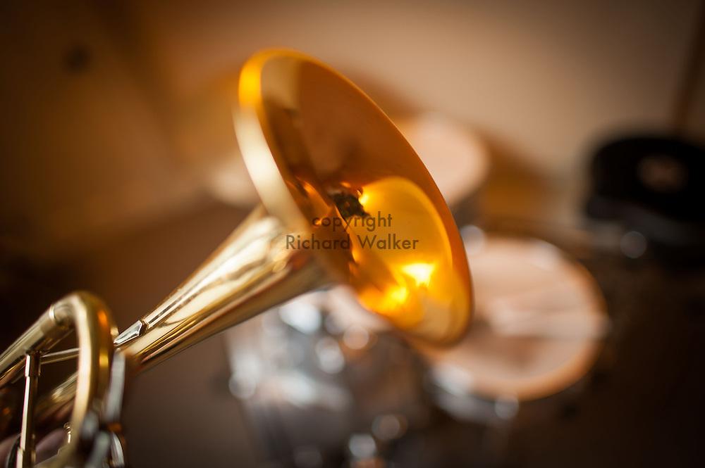2015 August 15 - Brass trumpet, Seattle, WA, USA. By Richard Walker