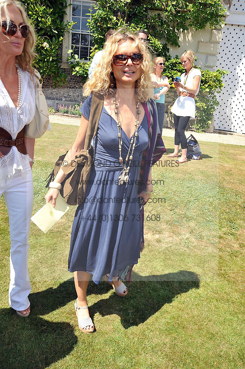MARYAM D'ABO at a luncheon hosted by Cartier for their sponsorship of the Style et Luxe part of the Goodwood Festival of Speed at Goodwood House, West Sussex on 5th July 2009.