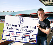 06-06-2013 - Gavin Rae return to Dundee FC