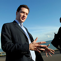 George Osborne MP, during his time as Shadow Chancellor of the Exchequer at a Conservative Party Conference in Bournemouth.