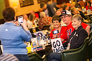 Pregame social March 3 at Brendan's Irish Pub in Las Vegas for GU women's basketball vs. Santa Clara. (Photo by Ryan Sullivan)