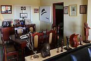Office at Vegas Robaina, San Luis, Pinar del Rio, Cuba.