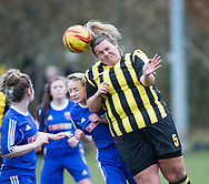 - Forfar Farmington Ladies (blue) v Hutchison Vale development in the Scottish Womens' Football League Division 2 at Station Park in  Forfar : Image &copy; David Young<br /> <br />  - &copy; David Young - www.davidyoungphoto.co.uk - email: davidyoungphoto@gmail.com