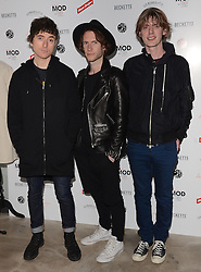 Drew McConnell of Babyshambles and guests attend March of the Mods launch party to celebratethe launch of  Richard Weight's new Green Label Collection and book at Gibson Lounge, Eastcastle Street, London, W1 on Wednesday 11 February 2015