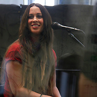 Alanis Morissette performing at SiriusXM on August 30, 2012...Photo Credit; Rahav Iggy Segev / Photopass.com