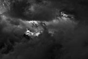 Hrywan peak in clouds in Tatras , Poland , photo by Piotr Gesicki