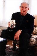 Leon Gautier, French D-Day veteran, ex commando Kieffer, in June 2004