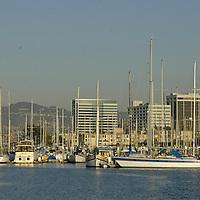 Oakland Marina and Harbor, San Francisco Bay, California, United States