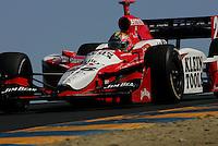 Dan Wheldon at Infineon Raceway, Argent Mortgage Indy Grand Prix, August 28, 2005