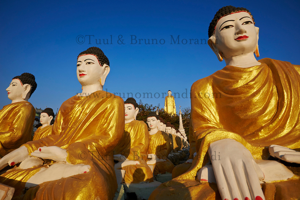myanmar burma sagaing division monywa bodhi tataung buddha statue of 129 m high bruno. Black Bedroom Furniture Sets. Home Design Ideas