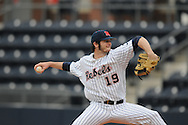 Ole Miss' Bobby Wahl (19) pitches against Arkansas State at Oxford University Stadium in Oxford, Miss. on Wednesday, February 23, 2011.
