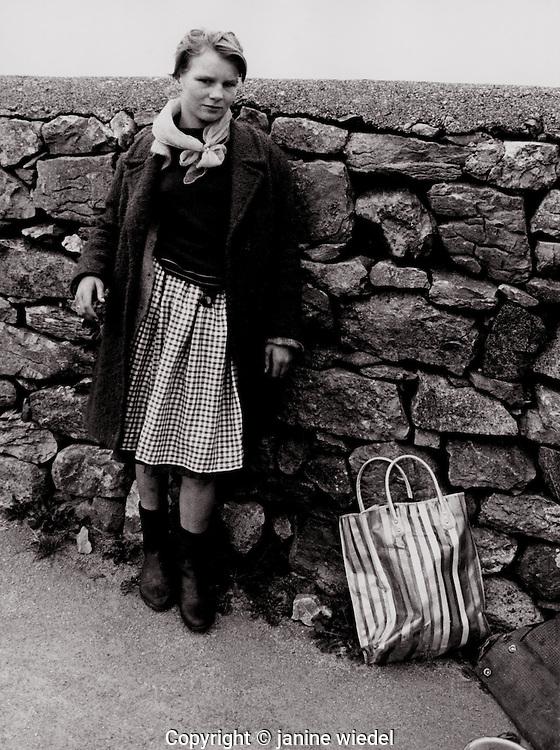 Irish Tinker Traveller children Southern Ireland in the 1970's.