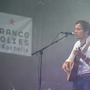 Vianney en concert aux francofolies de La Rochelle 2015
