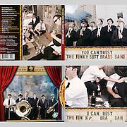Funky Butt Brass Band Album Artwork (design by Tim Rose)