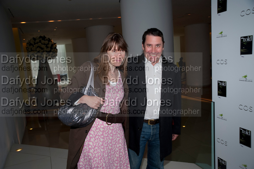 CHRISTABEL HOLLAND; JOOLS HOLLAND, Told, The Art of Story by Simon Aboud. Published by Booth-Clibborn editions. Book launch party, <br /> St Martins Lane Hotel, 45 St Martins Lane, London WC2. 8 June 2009