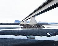 Bridge near Lómagnúpur , Iceland