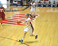Ole Miss' Gracie Frizzell (12) vs. Alabama in NCAA women's basketball action in Oxford, Miss. on Sunday, January 13, 2013.  Alabama won 83-75.