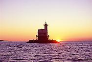 Bug Light, Lighthouse, Orient, New York, Sunrise, Gardiners Bay