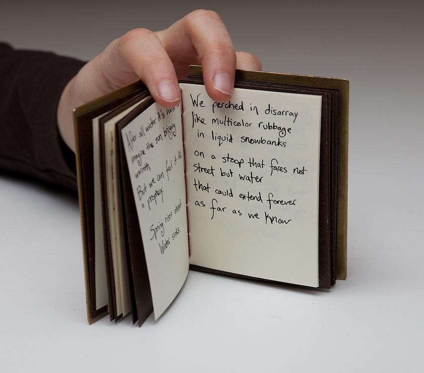 Artist book by Mia Mueller