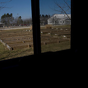 Deerfield Correctional Facility's Horticultural Program sits deserted after the last 33 of 1,200 prisoners were transported out of the closing prison in Ionia, MI, Friday, March 20, 2009. The prisoners were transferred to West Shoreline Correctional Facility in Muskegon, MI.