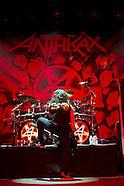 Concert - Anthrax, Testament, Death Angel - Indianapolis