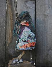 Spirit Dolls, Coastal Spirit of California, by Artist Catherine Herrera