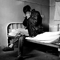 """BEIJING, 2000 : an """"anonymous"""" aids patient from Shandong province who came to BJ's You'an hospital for treatment. If his employer knew he's HIV positive, the man said, he'd loose his job immidiately."""