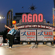 27 June 2012: Kelly Kulick during the Bowling's US Women's Open 2012 under the Reno Arch at in Reno, NV.
