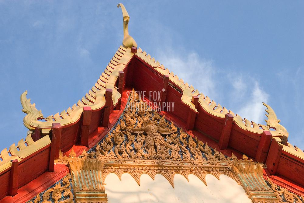 Decorative detail of a Temple in Phra Nakhon Khiri Historical Park, Phetchaburi, Thailand