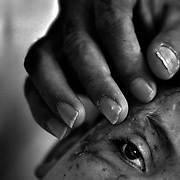 On Oct. 10, 2003, as he walked home from school, a 9-year-old Iraqi boy named Saleh Khalaf picked up something on the roadside that looked to him like a toy ball. Seconds later it exploded &mdash; ripping open his abdomen, tearing off his hands, blowing out his left eye, and mortally wounding his older brother.<br /> Days afterward, Saleh&rsquo;s father, Raheem, persuaded doctors at a U.S. Air Force base to perform emergency surgery to keep his son alive. It marked the beginning of an international mercy mission to save the boy whose indomitable spirit earned him the nickname Lion Heart.<br /> The mission would take Saleh and Raheem to Children&rsquo;s Hospital in Oakland, California for treatment. After many months and dozens of surgeries, Saleh's condition began to improve but his heart was still heavy. He prayed that he would one day be reunited with his mother, Hadia and his younger siblings.<br /> Raheem and Saleh were granted asylum, and soon afterward their family received permission to join them in the U.S. In December 2004, Hadia and the children left Iraq and made the arduous journey to Oakland and to a new life.<br /> Throughout the ordeal Saleh's father, Raheem, stayed at the boy's side, ready with a comforting touch.