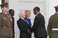 Presentation of Credentials  Áras an Uachtaráin  23.10.2012  H.E. Mr. Bizwayo Newton Nkunika, A