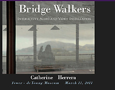 BRIDGE WALKERS INSTALLATION by Catherine Herrera