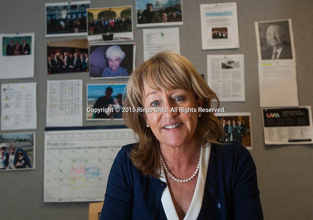 Mary Leslie, President of Los Angeles Business Council.<br /> (Photo by Ringo Chiu/PHOTOFORMULA.com)