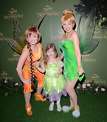 Dixie Zissman attends Tinkerbell and the Legend of the Neverbeast Gala Screening at Vue West End, Leicester Square  London on Sunday 7th December 2014