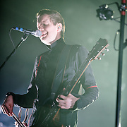 FAIRFAX, VA - March 24th, 2013 -  Jonsi  of Sigur Ros performs at the Patriot Center in Fairfax, VA on the opening date of their 2013 North American tour.  The band will hit 15 cities in North America touring behind their 2012 album, Valtari. (Photo by Kyle Gustafson/For The Washington Post)