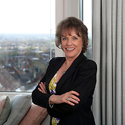 Esther Rantzen at her London home.
