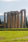 Temple of Olympian Zeus. Athens, Greece