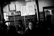 Bhopal, twenty-five years later..People suffering from ailments related to the the 1984 Union Carbide gas leak wait for medicines at a clinic in the city of Bhopal in the state Madhya Pradesh, Indai October 9, 2009. ..Twenty-five years after a gas leak in the Union Carbide factory in Bhopal killed at least eight thousand people, toxic material from the 'biggest industrial disaster in history' continues to affect Bhopalis. A new generation is growing up sick, disabled and struggling for justice...The effects of the disaster on the health of generations to come, both through genetics transferred from gas victims to their children and through the ongoing severe contamination, caused by the Union Carbide factory, has only started to develop visible forms recently...