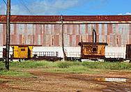 Sugar mill in Baragua, Ciego de Avila Province, Cuba.