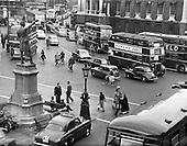 1959 - Traffic scenes in Dublin