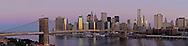Brooklyn Bridge; Connecting Manhattan and Brooklyn, New York City, NY, designed by John Augustus Roebling,