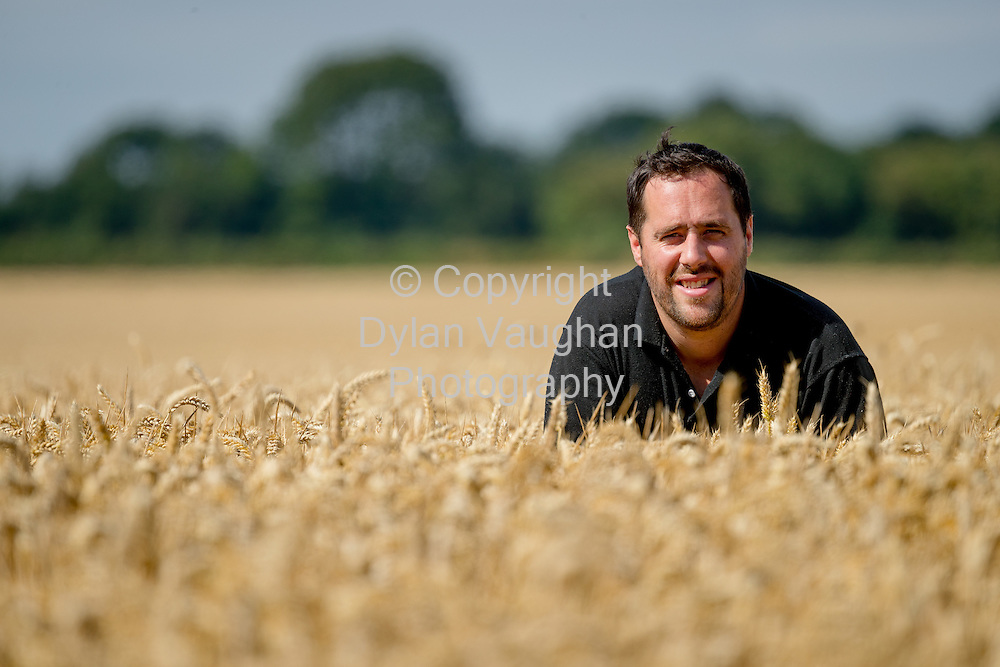 11-8-16<br /> Julian Hughes pictured on the farm in Kells Co. Kilkenny.<br /> <br /> Picture Dylan Vaughan