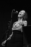 Dannielle DeAndrea at Hotel Cafe 8/31/2014 in Los Angeles, CA.