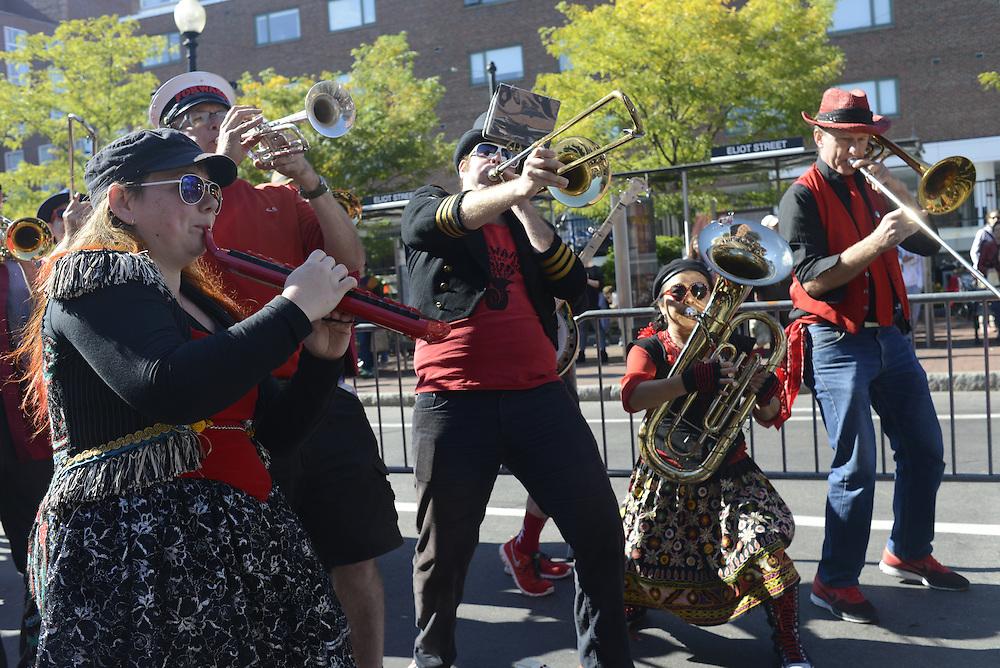 Honk Festival and Cambridge October Fest, Harvard Square, October 12, 2014