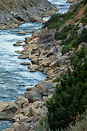Wind River, Wind River Canyon, Wind River Canyon Scenic Byway, south of Thermopolis, Wyoming