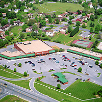 Aerial Photography of Shopping Center
