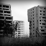 Islamabad. After the 2005 earthquake the towers never rebuilt. It is still a memento.